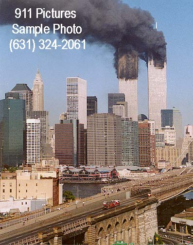 Ladder 118 enroute to WTC